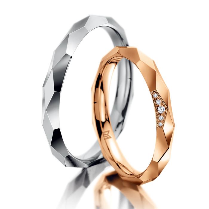 シンプル 結婚指輪のファンタスティックス - 136 -136D