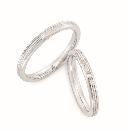 ゴージャス,個性的 結婚指輪の274640_241698