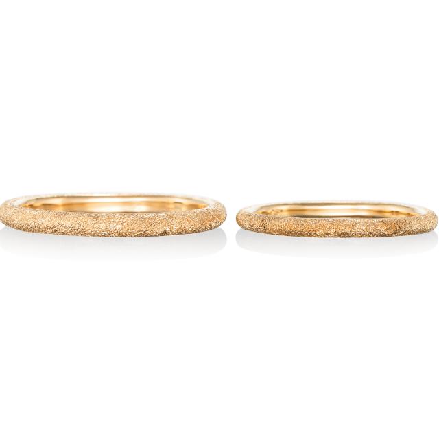 シンプル,フェミニン 結婚指輪のエタンスラント