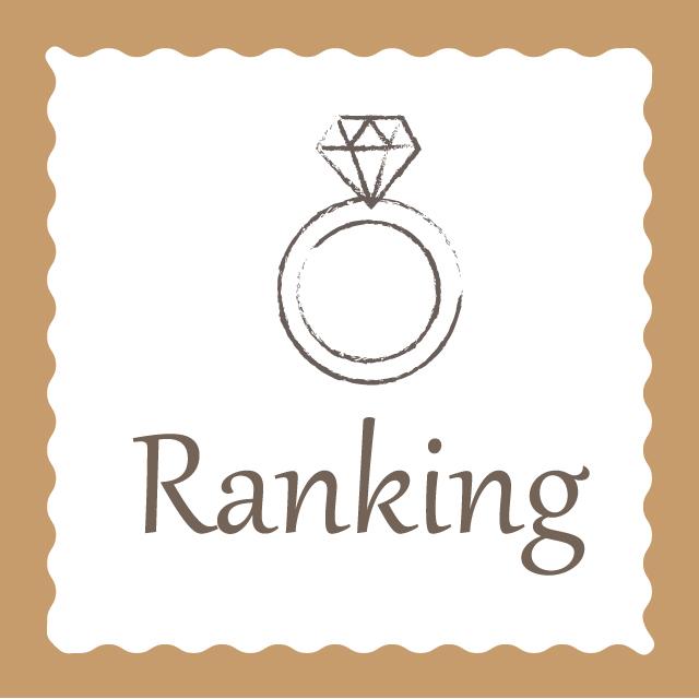 結婚指輪・婚約指輪人気ランキング
