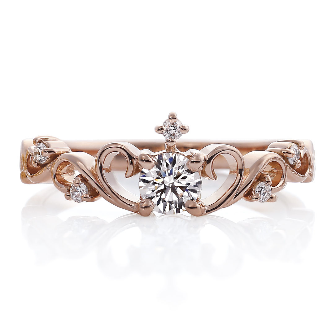 ゴージャス 婚約指輪のThe French