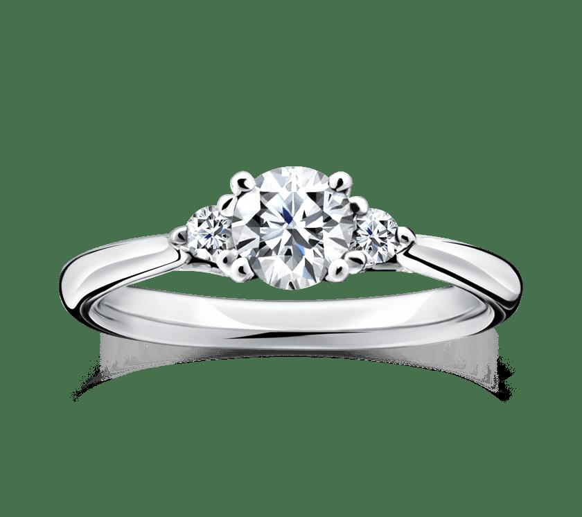 ゴージャス 婚約指輪のポエトリー