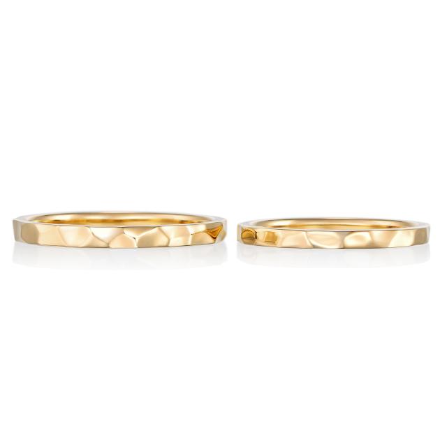 シンプル,フェミニン 結婚指輪のカラン