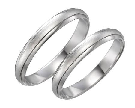 シンプル 結婚指輪のディル