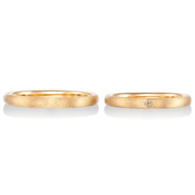 シンプル,フェミニン 結婚指輪のジョリ