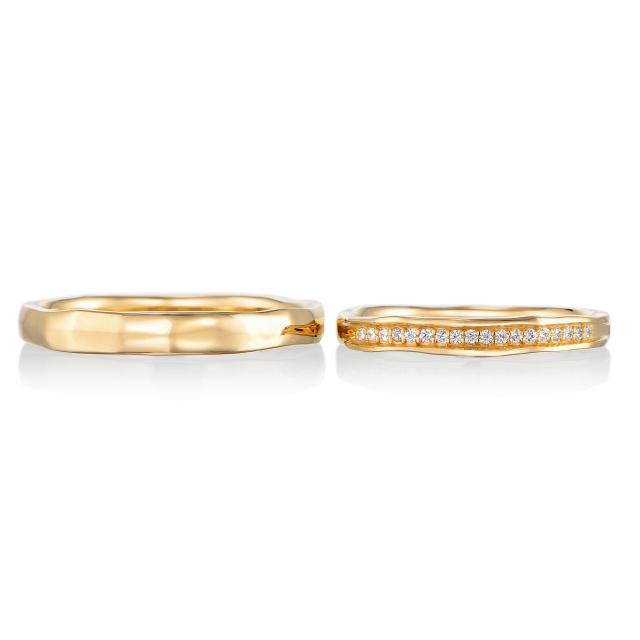 シンプル,フェミニン 結婚指輪のエスペランス