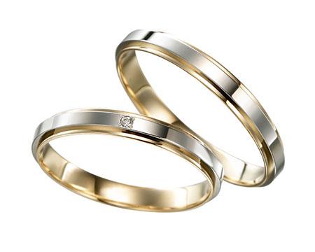 シンプル 結婚指輪のリンデン