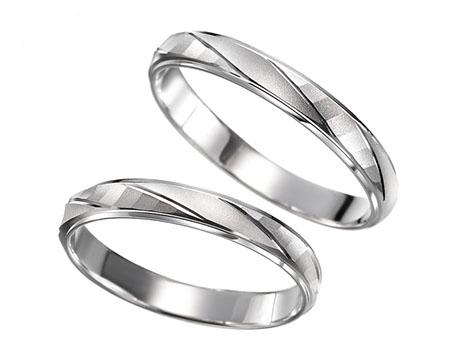 シンプル 結婚指輪のフェンネル