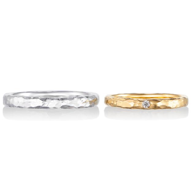 シンプル,フェミニン 結婚指輪のボヌール