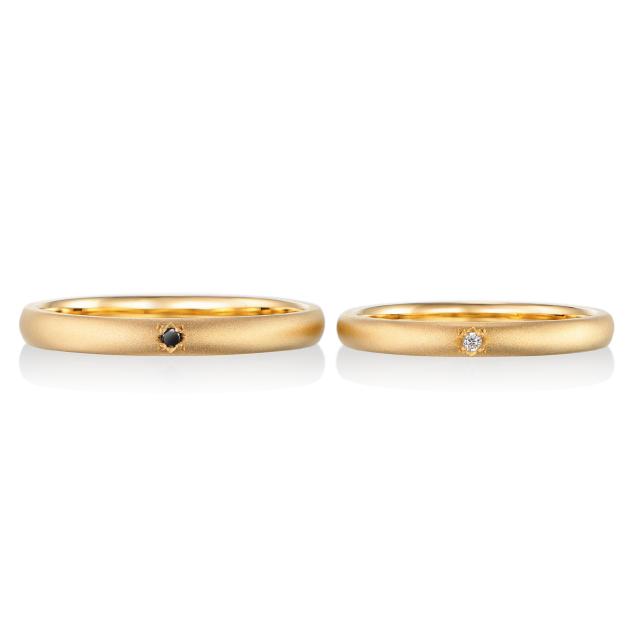 シンプル,フェミニン 結婚指輪のエトワール