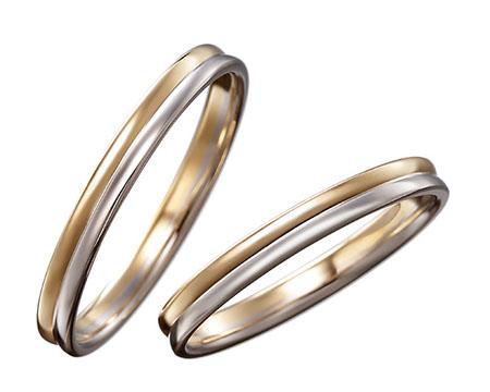 シンプル 結婚指輪のマートル