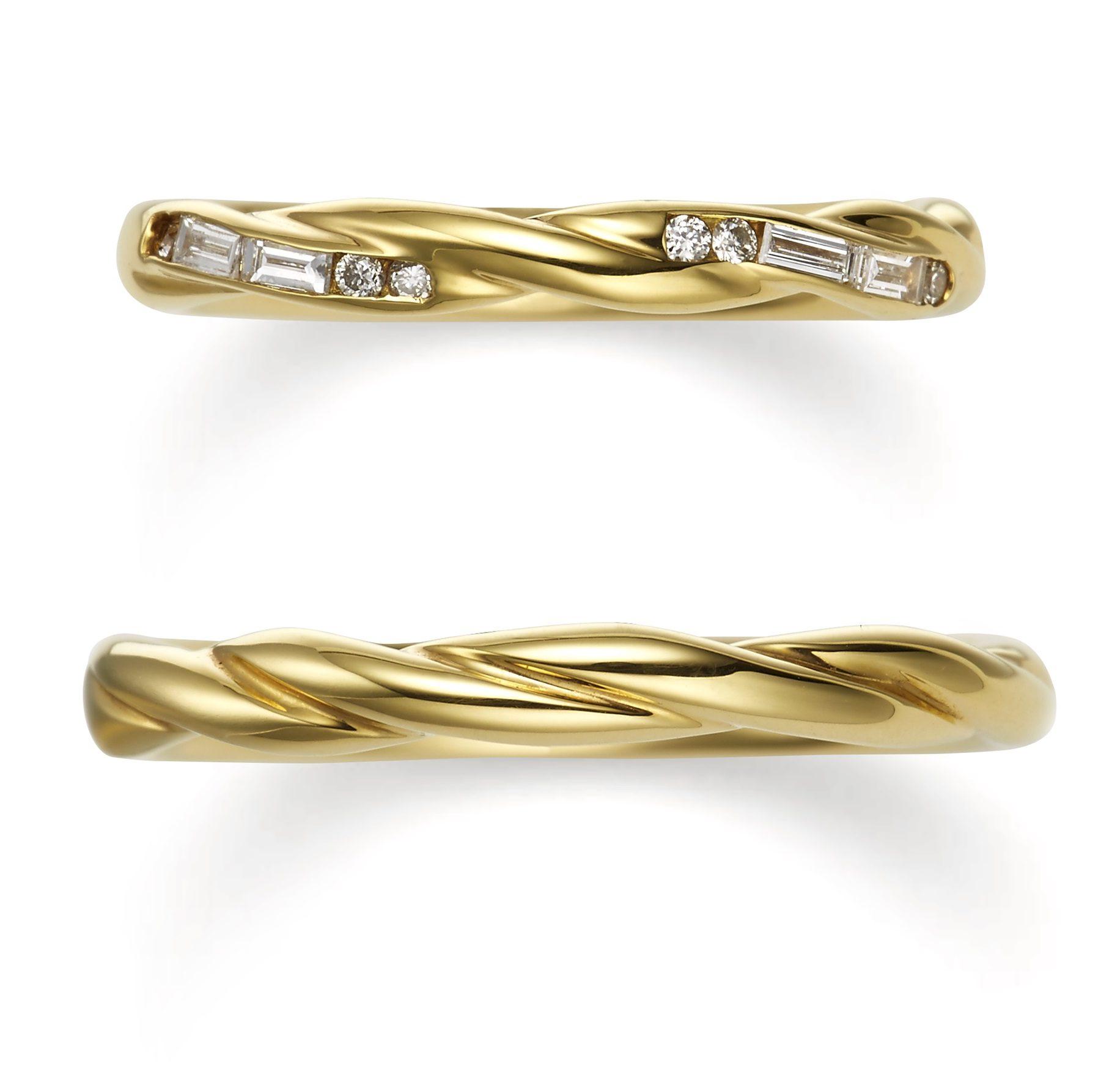 個性的 結婚指輪のクローブ