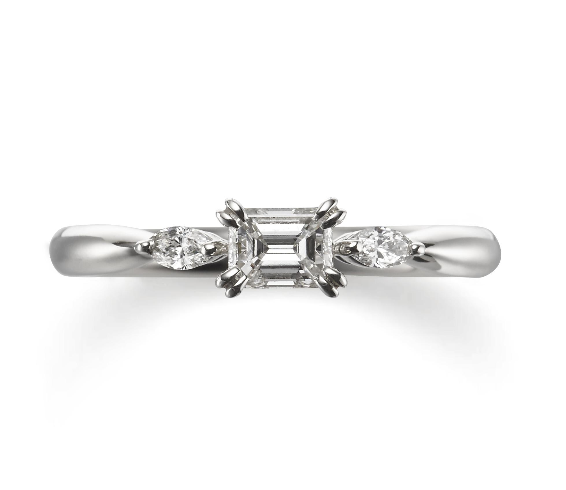個性的 婚約指輪のジャスミン