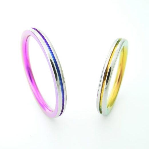 個性的 結婚指輪のTITANIO No.11