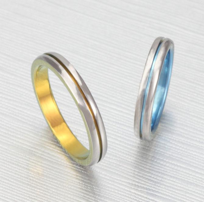 個性的 結婚指輪のTITANIO No.9
