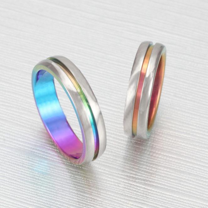 個性的 結婚指輪のTITANIO No.10