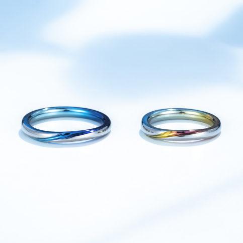 個性的 結婚指輪のエテルノ(永遠)