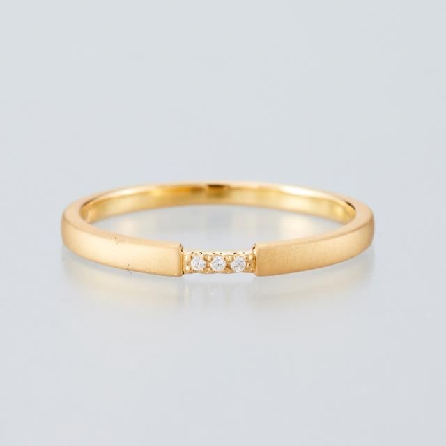 シンプル 結婚指輪のMJS-5