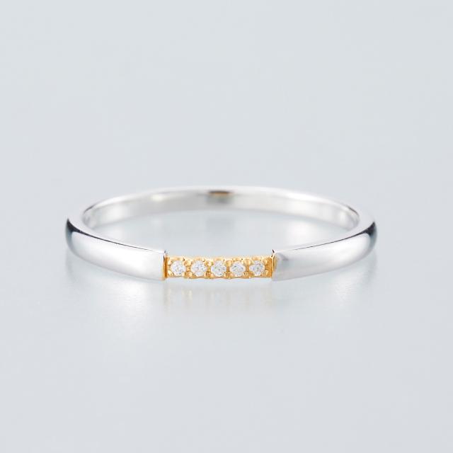 シンプル 結婚指輪のMJS-1