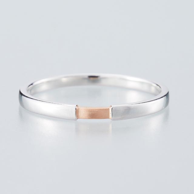 シンプル 結婚指輪のMJS-4