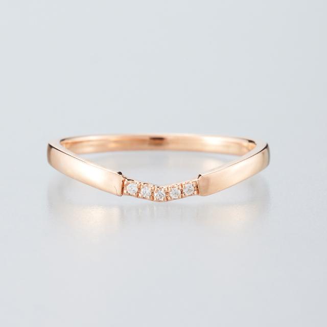 シンプル 結婚指輪のMJS-9