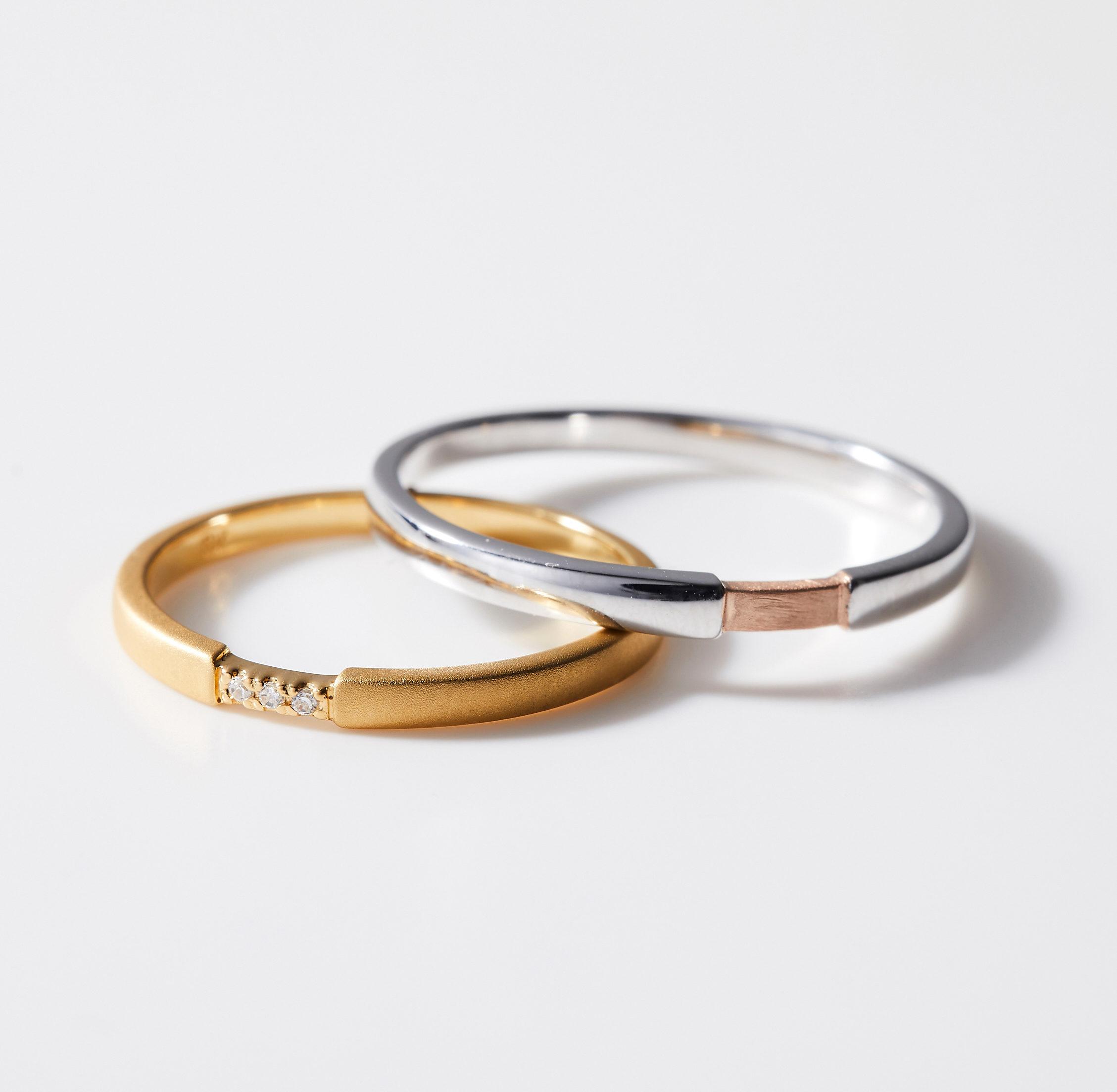 シンプル 結婚指輪のMJS-4・MJS-5