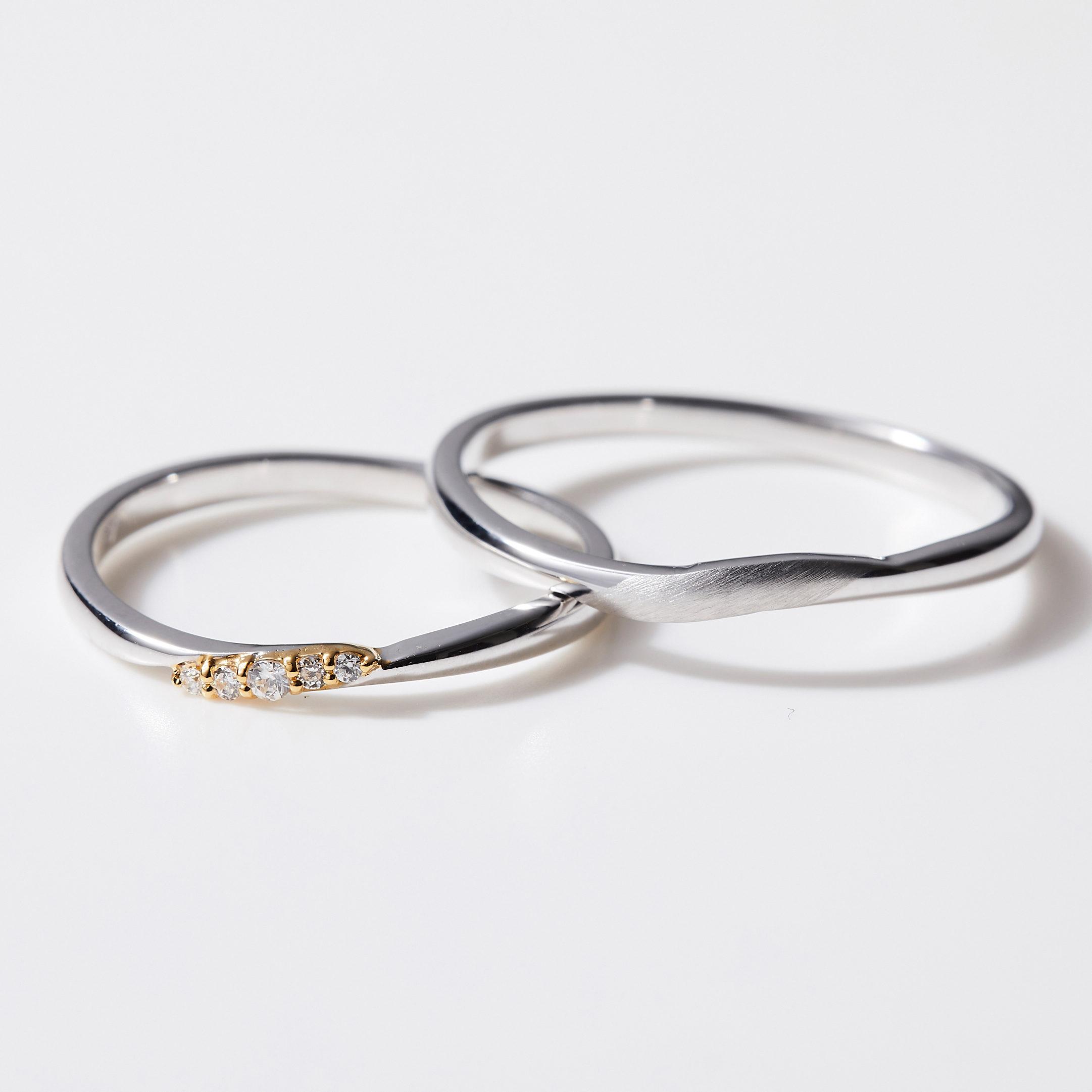 シンプル 結婚指輪のMJS-13・MJS-14