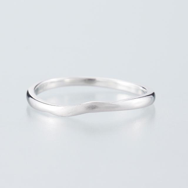 シンプル 婚約指輪のMJS-14
