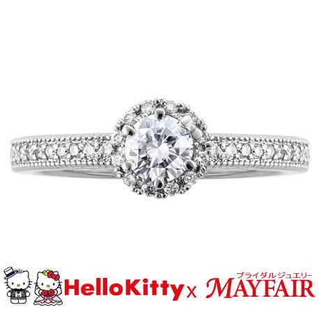 フェミニン,ゴージャス 婚約指輪のGARDEN KEW