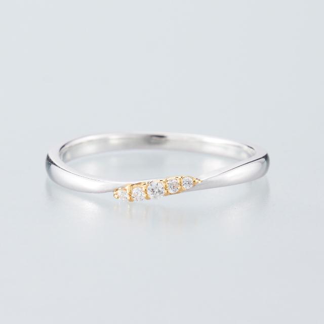 シンプル 結婚指輪のMJS-13