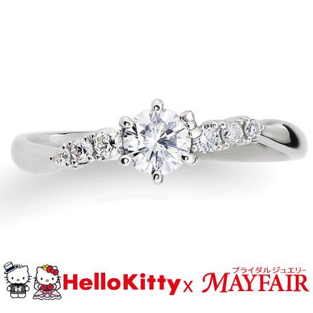 シンプル,ゴージャス 婚約指輪のRiverThames