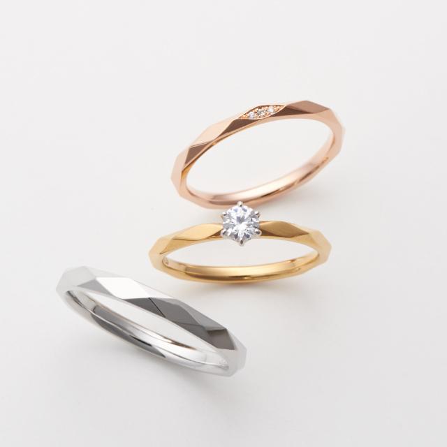 フェミニン 婚約指輪のluz