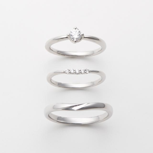 フェミニン 婚約指輪のcita