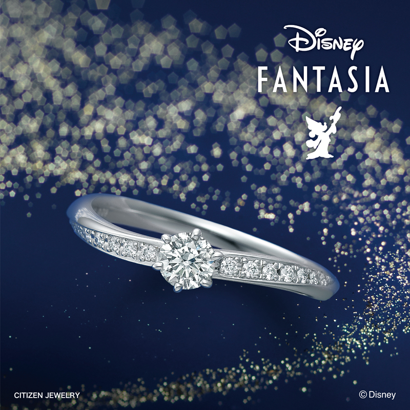 シンプル,フェミニン 婚約指輪のFantasy Magic