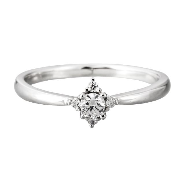 フェミニン 婚約指輪のMJK-9