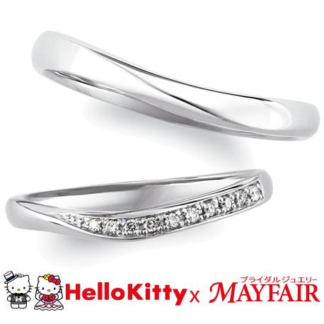 フェミニン,ゴージャス 結婚指輪のGARDEN KEW