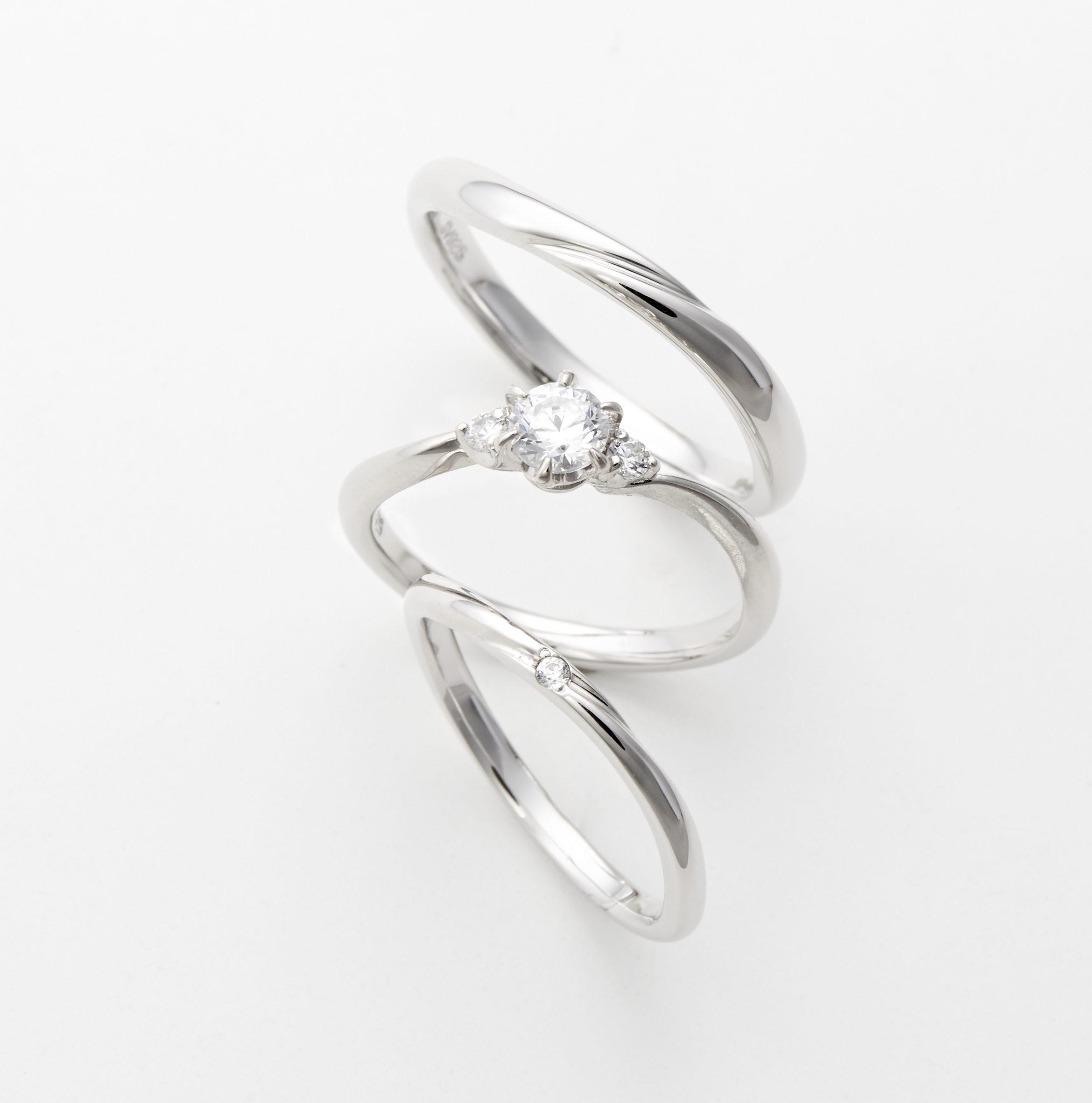 フェミニン 婚約指輪のaimer