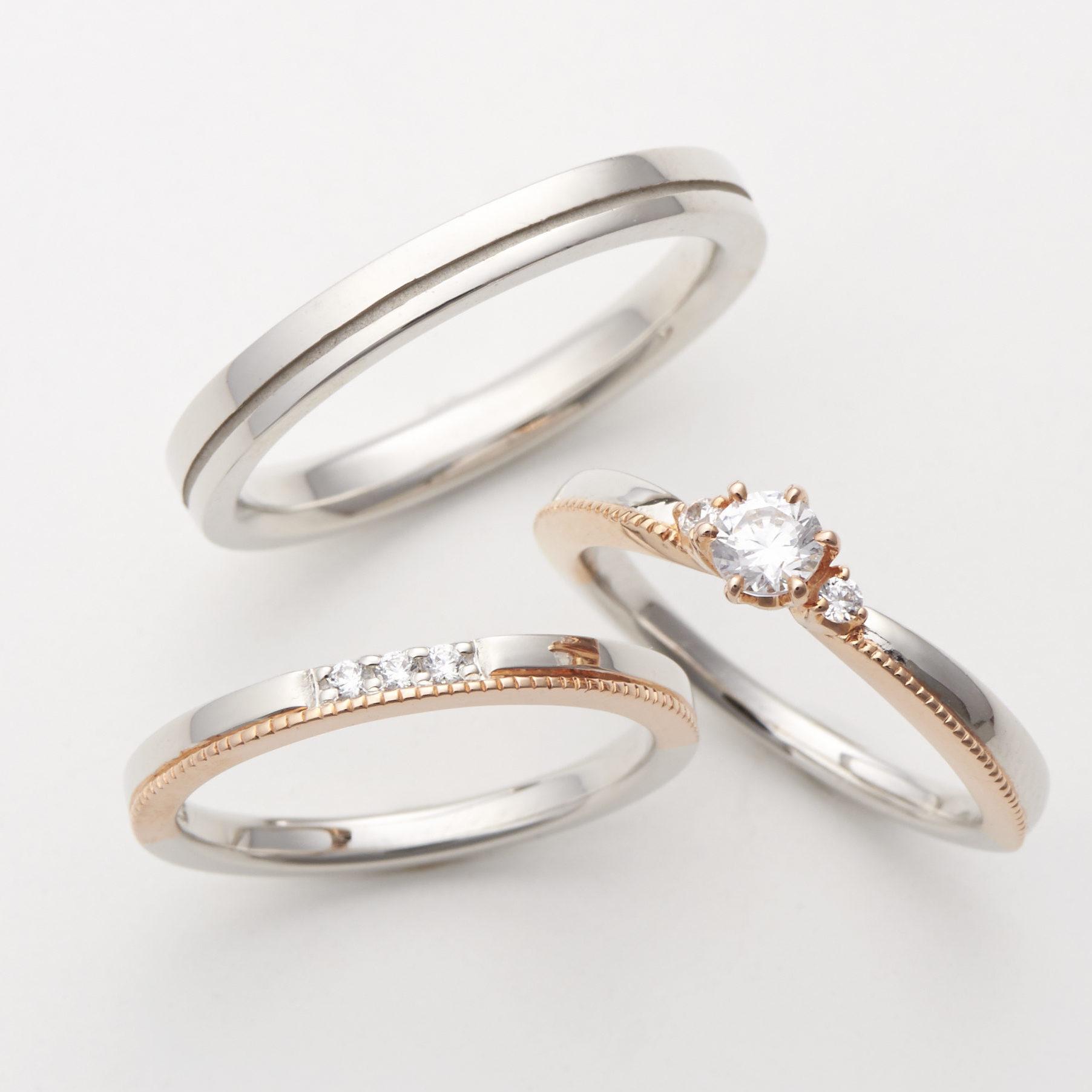 フェミニン 婚約指輪のporte bonheur
