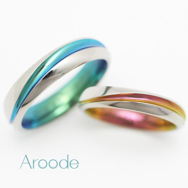 個性的 結婚指輪のRIVA