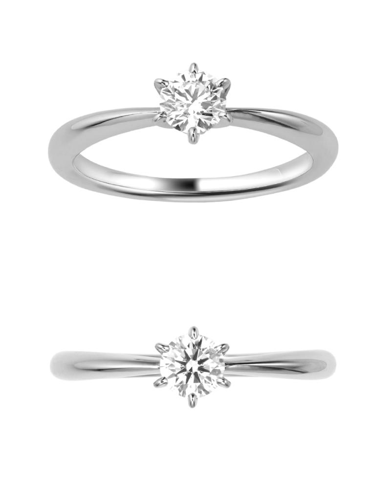 婚約指輪人気ランキング NO.2