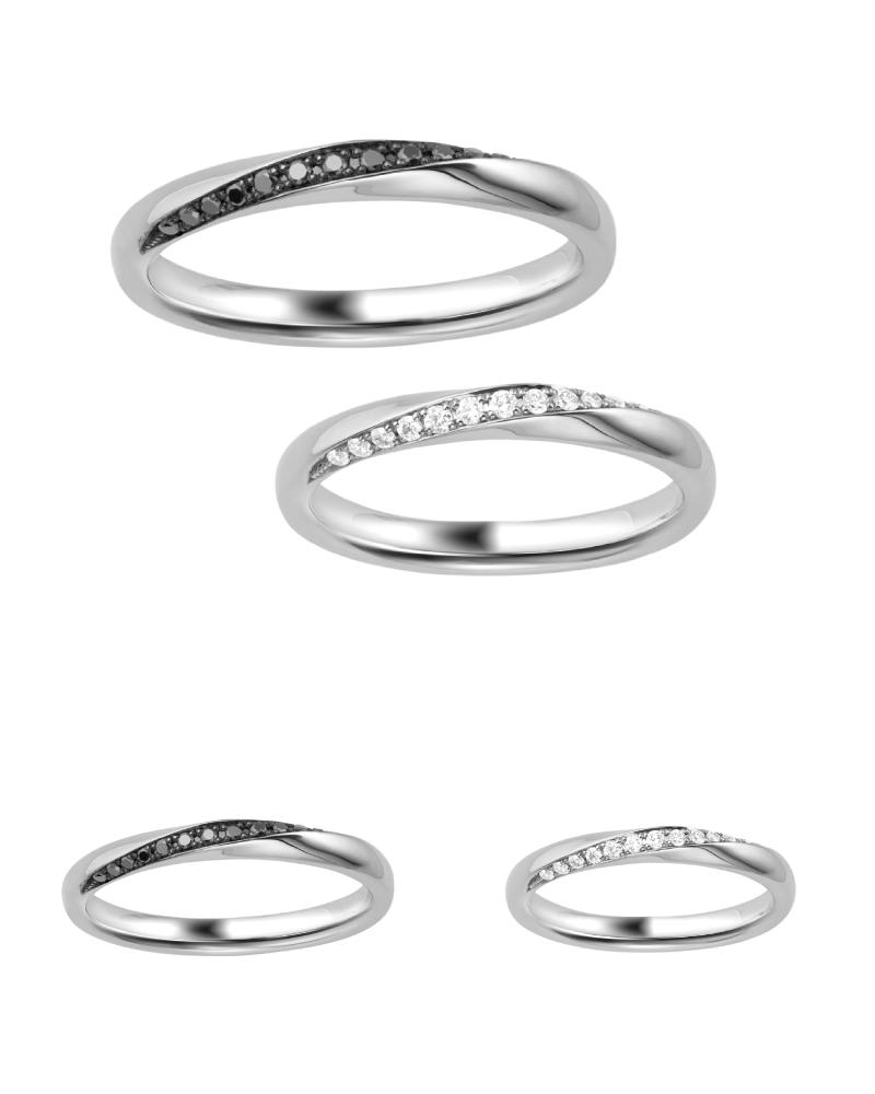 結婚指輪人気ランキング NO.2