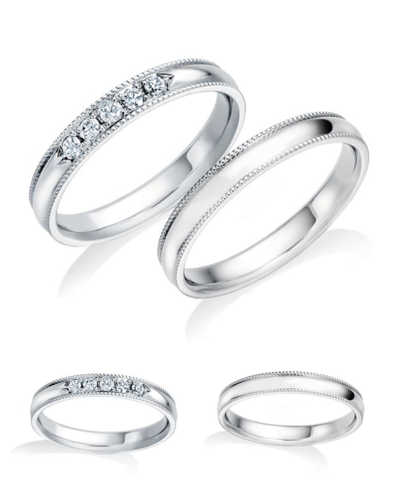 結婚指輪人気ランキング NO.3