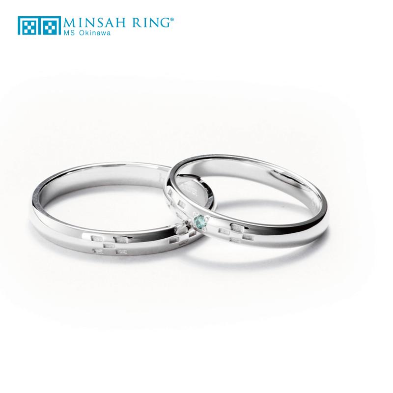 シンプル,ゴージャス 結婚指輪のserene