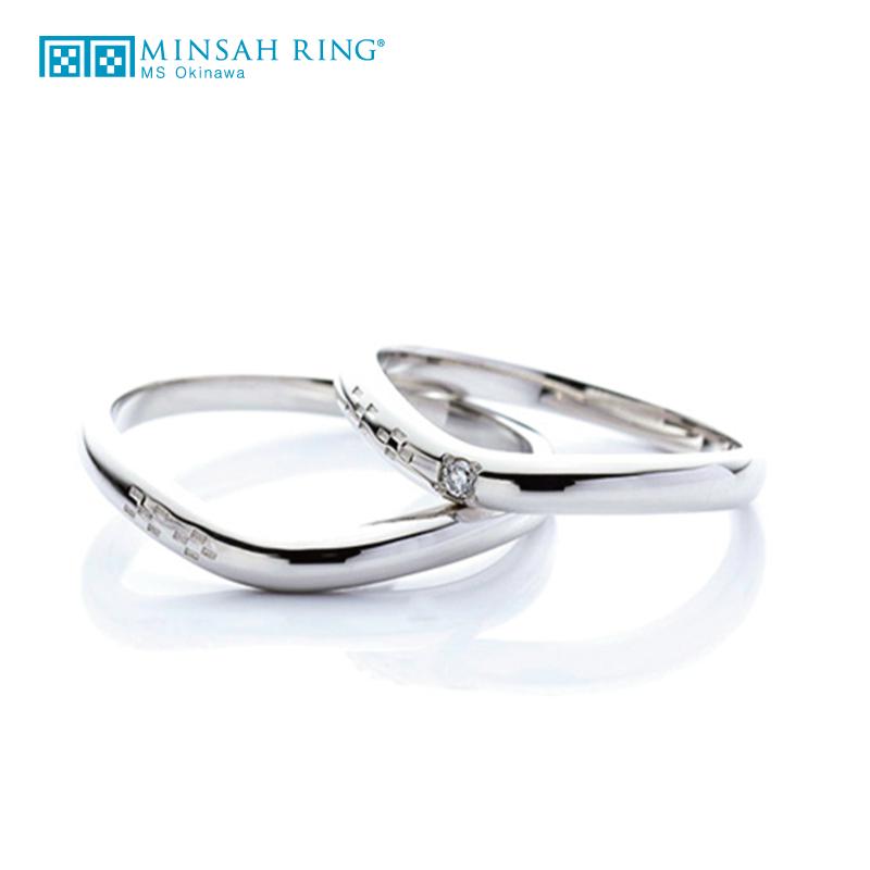 シンプル,ゴージャス 結婚指輪のbond