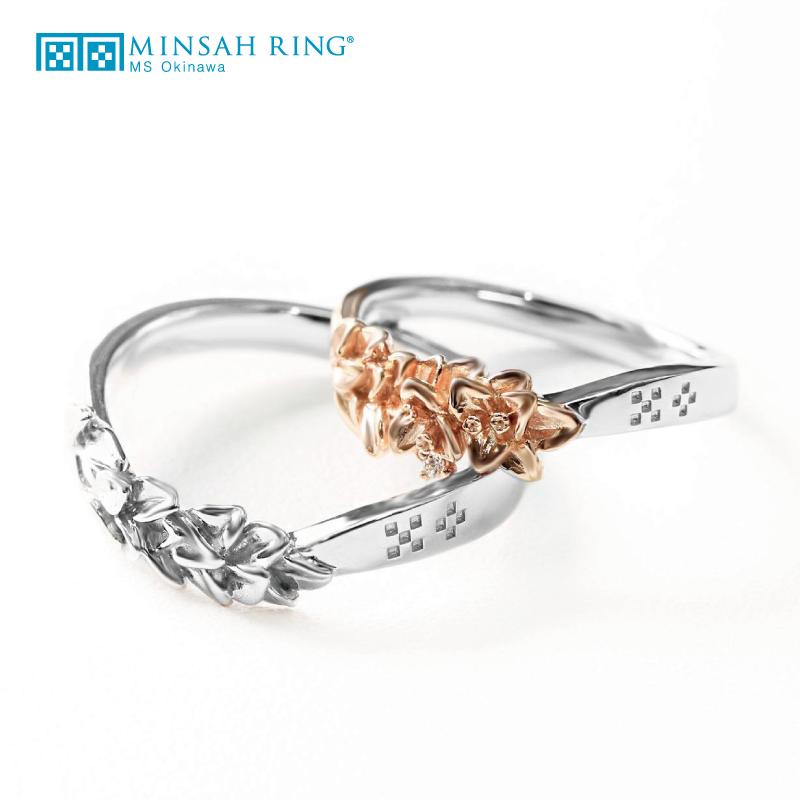 ゴージャス 結婚指輪のrelief