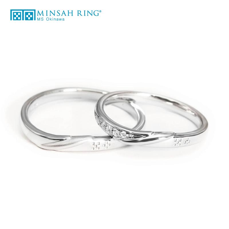 シンプル,ゴージャス 結婚指輪のvent