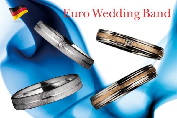 【GRACISBRIDAL札幌北2条店】Euro Wedding Band