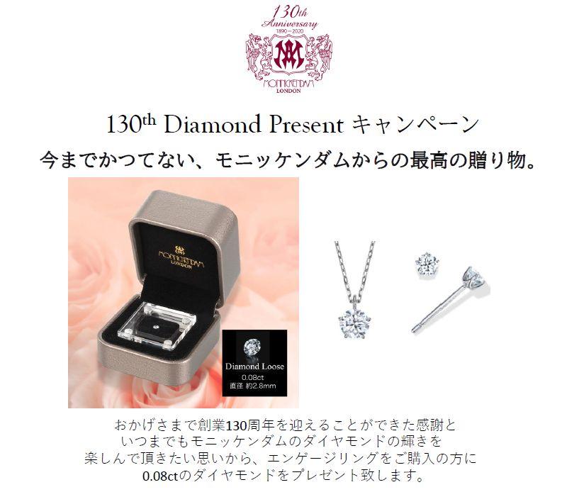【モニッケンダム】130th Diamond Presentキャンペーン