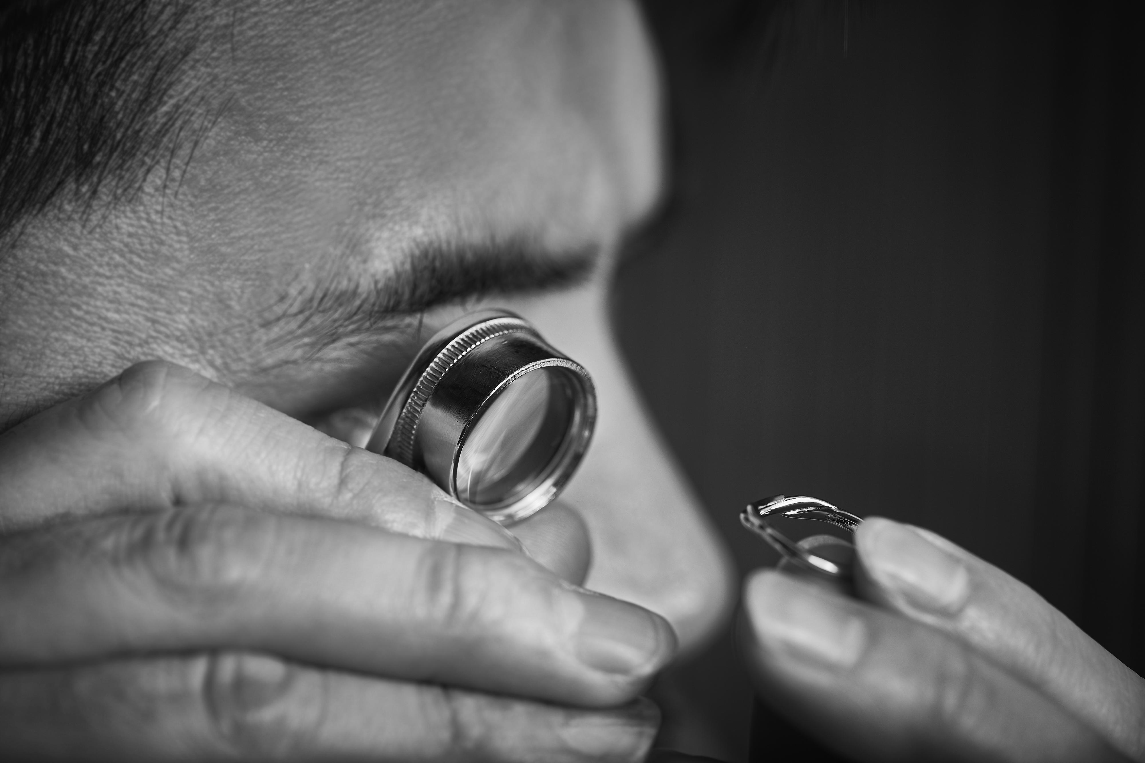 着け心地と肌への負担軽減も考慮した指輪